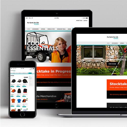 Kubota Gear Website